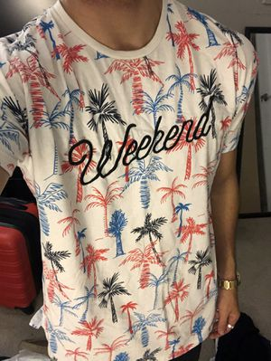 PENSHOPPE Red White & Blue WEEKEND Tee (S) for Sale in San Diego, CA