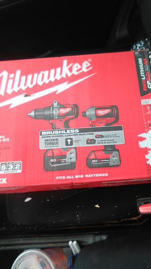 Milwaukee m18 2 tool combo kit for Sale in Lawrence, MA