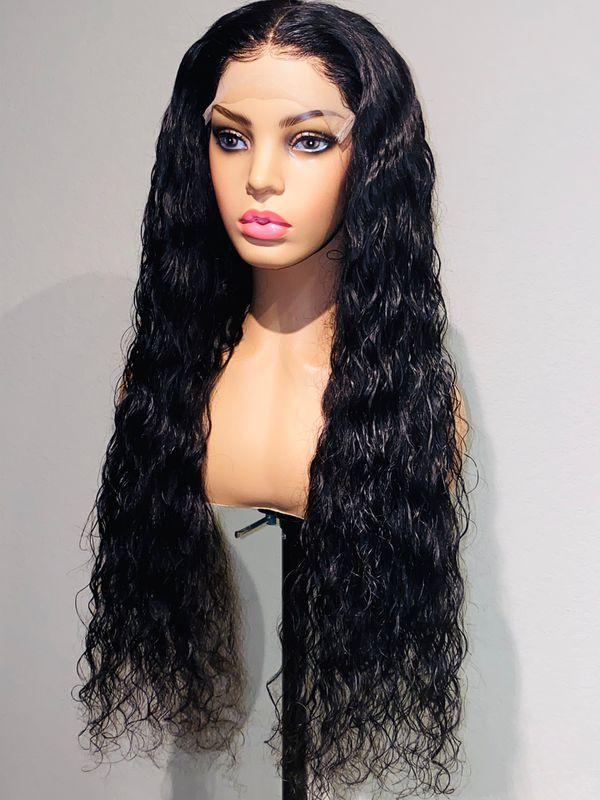 Premade lace wig