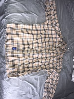 Men's XL Burberry long sleeve Polo for Sale in Oviedo, FL