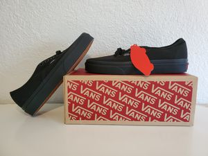 Van's Solid Black Size 4 Men & 5.5 Women for Sale in Turlock, CA