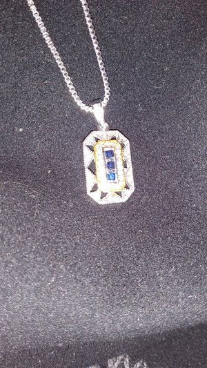 Art DECO pendant w chain for Sale in CRYSTAL CITY, CA