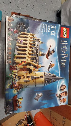 LEGO 75954 Harry Potter Hogwarts Great Hall New & Sealed Set for Sale in Federal Way, WA