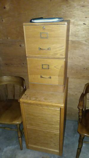 Oak file cabinets for Sale in Seattle, WA