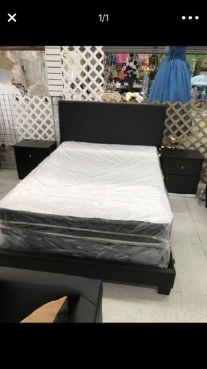 5 PCS BEDROOM SET NEW IN BOX FULL or QUEEN JUEGO DE HABITACIÓN TODO NUEVO EN SU CAJA - BED SET for Sale in Miami, FL