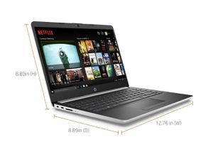 "NEW - HP 14"" Laptop, AMD Ryzen 3 3200U, 4GB SDRAM, 128GB SSD, Whisper Silver, 14"" for Sale in Centreville, VA"