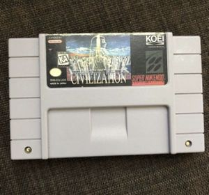 Civilization Super Nintendo Game! Super NES. Works! Christmas Santa Gift! for Sale in Henderson, NV