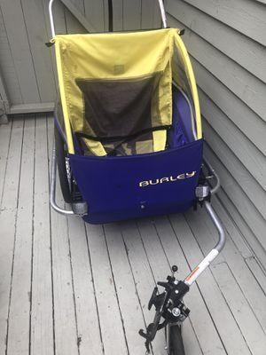 Burley D lite, double, bike and run stroller, trailer for Sale in Seattle, WA