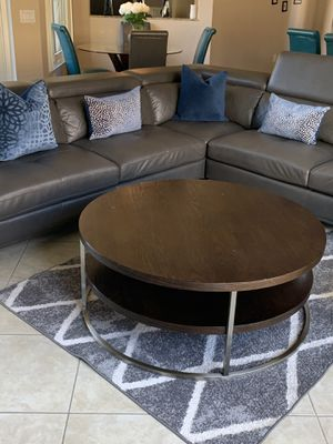 Solid wood coffee table and end table for Sale in Miramar, FL