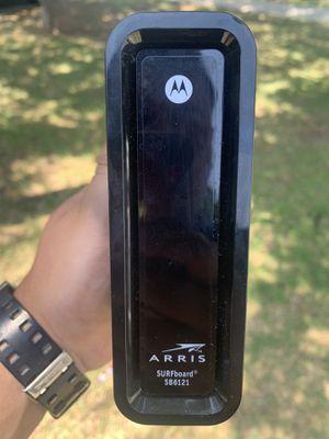 Motorola/Arris surfboard modem sb6121 for Sale in Chino, CA