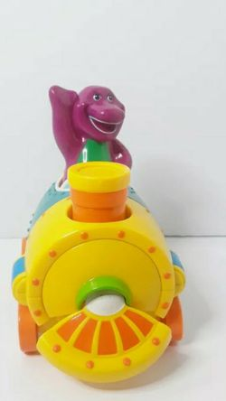 Vintage 2001Mattel Barney Purple Dinosaur 2 in 1 Talking Train converts Airplane for Sale in Los Angeles,  CA