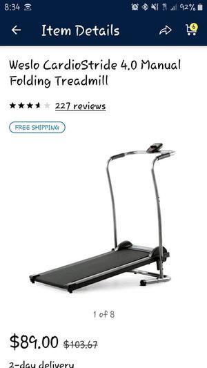 Treadmill (no electric) for Sale in Chesapeake, VA