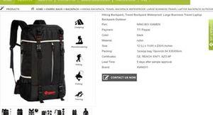 Hiking backpack for Sale in Grand Prairie, TX