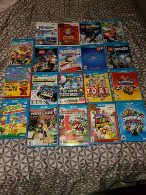 18 Nintendo wii u games for Sale in Chicago, IL
