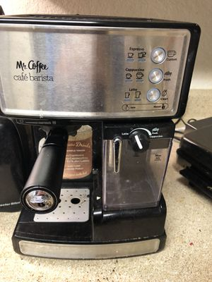 Mr. Coffee Espresso and Cappuccino Maker for Sale in Bellevue, WA