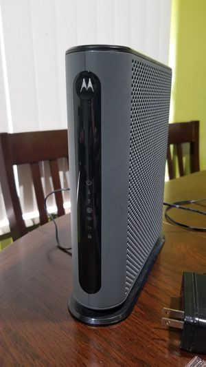 MOTOROLA MG7540 16x4 Cable Modem for Sale in Hollywood, FL