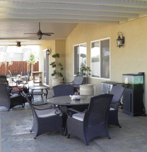 Outdoor patio furniture 11 pieces for Sale in Patterson, CA