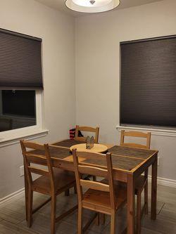 Ikea Jokkmokk Dining Table W/ 4 Chairs for Sale in Covina,  CA