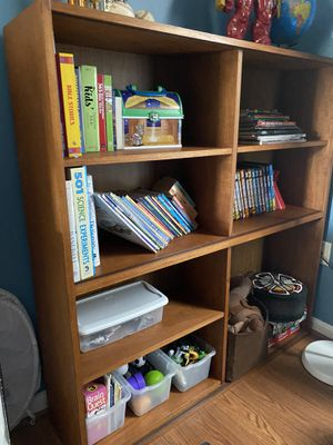 Double bookshelf bookcase for Sale in Clinton, MD
