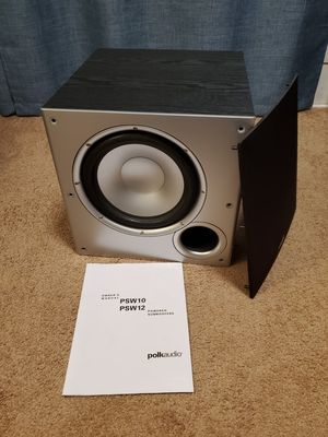 Polk PSW10 Subwoofer for Sale in Tigard, OR