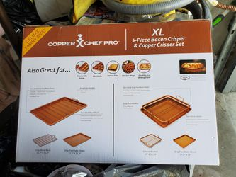Copper Chef Pro 4-piece set non-stick pans for Sale in Downey,  CA