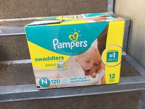 120 Pampers Diapers for Newborns for Sale in Orange, CA