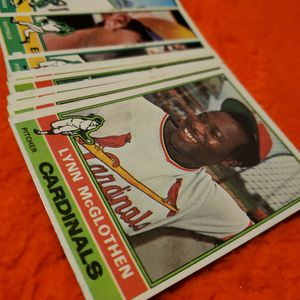 1976 Topps Baseball Cards, Lot Of 50, Vintage Cards, 1976 Topps for Sale in City of Industry, CA