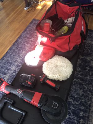Milwaukee professional polisher 800 to 2000 RPMs for Sale in Queens, NY