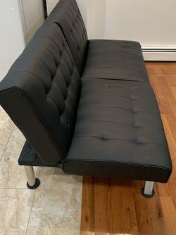 Black Sleeper Sofa for Sale in Jersey City,  NJ
