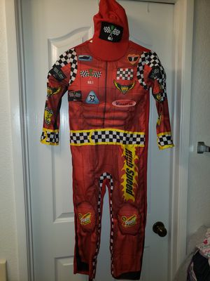 Boys Size Medium 8 Racecar costume for Sale in Oceanside, CA