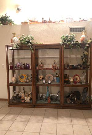 3 wooden bookshelves for Sale in Glendale, AZ