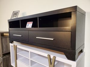 TV Stand up to 70in TVs, Black for Sale in Fountain Valley, CA