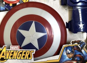 Best Offer NEW TOY Captain America Magnetic Shield & Gauntlets SAN MATEO for Sale in Half Moon Bay,  CA