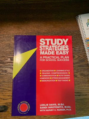 Study Strategies Made Easy for Sale in Mount Joy, PA