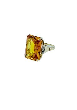 14k Citrine/Diamond ring for Sale in Alexandria, VA