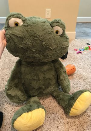 Big frog teddy bear for Sale in Missoula, MT