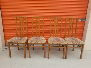 Vintage mid-century modern chairs for Sale in Huntington Beach, CA