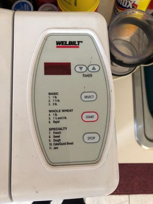 Welbilt Bread Maker for Sale in Humble, TX