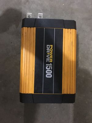 Power drive inverter 1500 watts for Sale in Huntley, IL