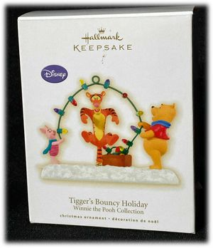 Hallmark Keepsake Winnie The Pooh Christmas Ornament 2009 Tiggers Bouncy Holiday for Sale in Moreno Valley, CA