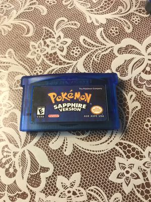 Pokémon sapphire for Sale in Oroville, CA