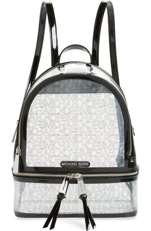 Michael Kors Medium Rhea Transparent Backpack for Sale in Brentwood, NC