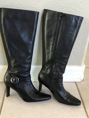 BASS- Felicia. Black leather boot. US 6 1/2M Women. for Sale in Carlsbad, CA