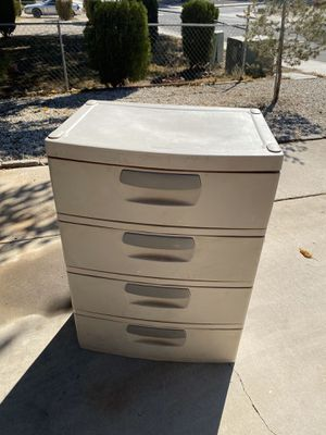Plastic drawer for Sale in Victorville, CA