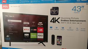 "TCL Roku TV 4K 43"" for Sale in Maineville, OH"