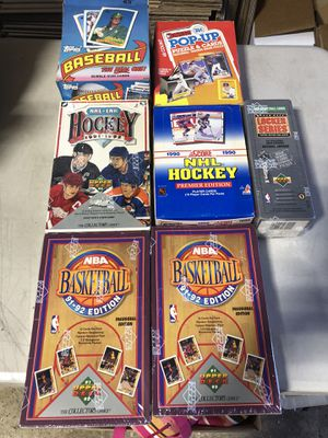Baseball Hockey Basketball Cards for Sale in Plainview, NY