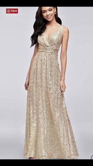 Formal/bridesmaids/prom gold dress for Sale in Adairville, KY