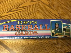 1989 Topps Baseball Card Factory Set for Sale in Mokena, IL