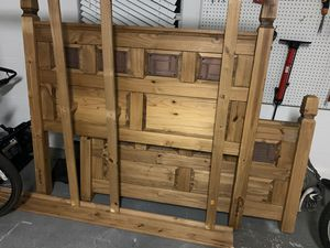 Queen Solid Wood Bed Frame for Sale in Riverview, FL