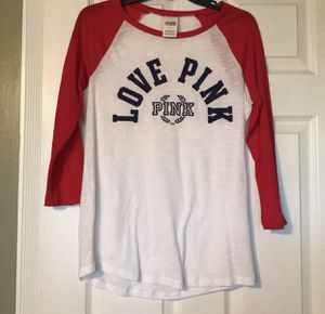 PINK VS baseball tee for Sale in Jurupa Valley, CA